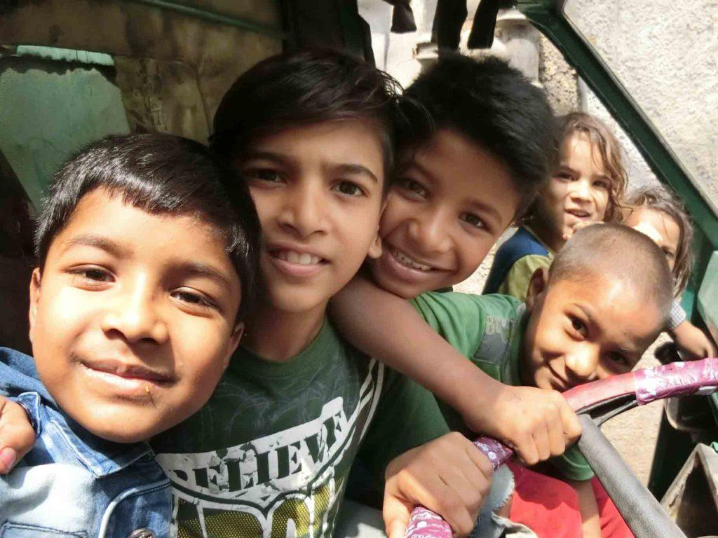 スラムの子供たち