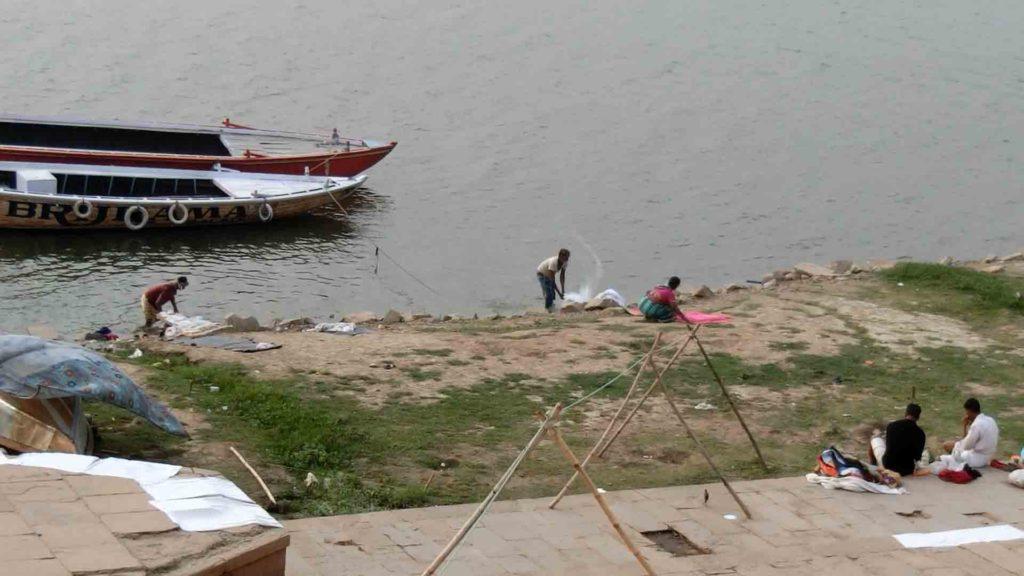 ガンジス川の洗濯