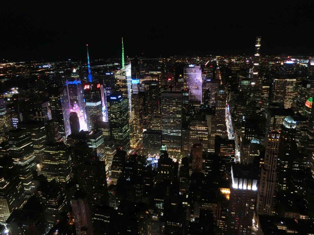 NY夜景違う方向