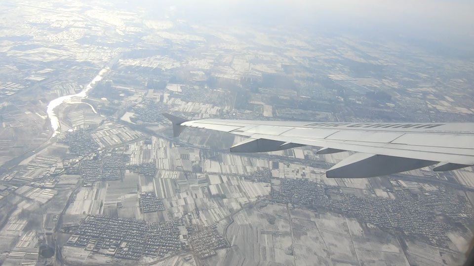 窓からの北京