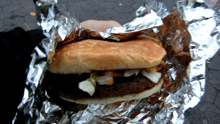 インチキハンバーガー7ドル