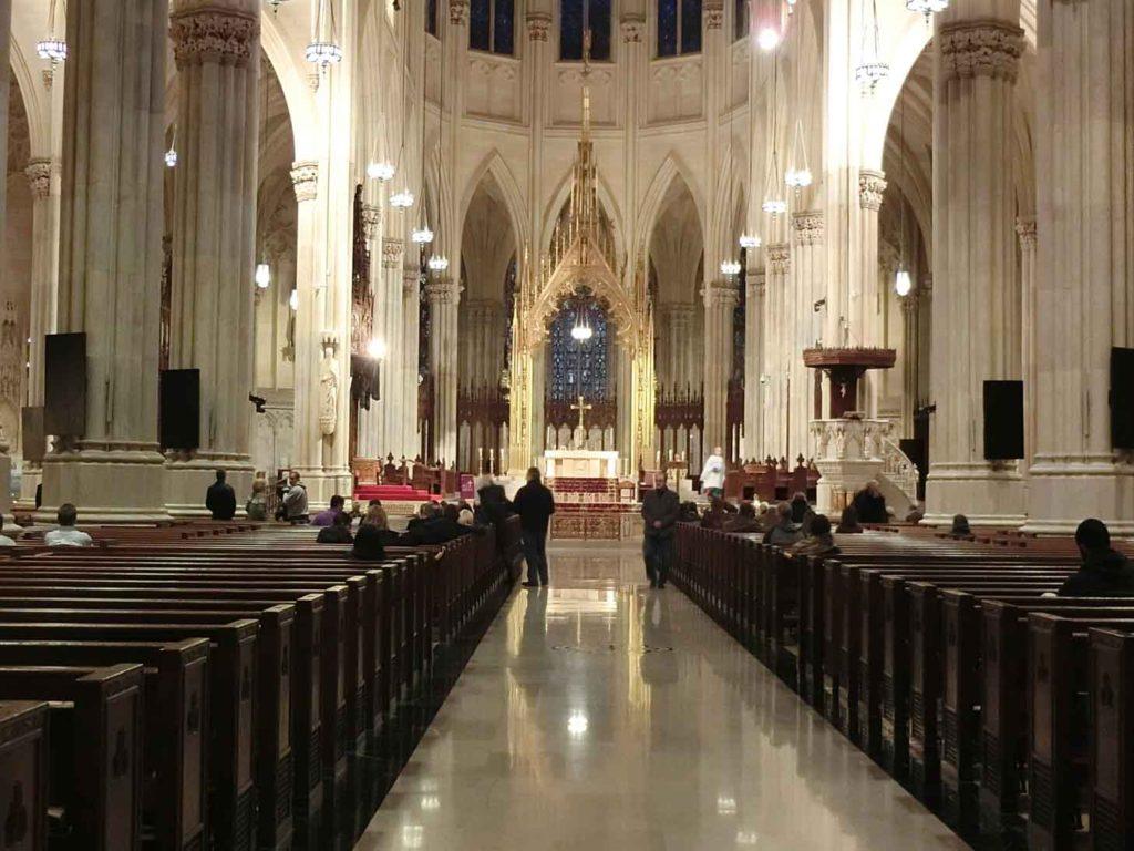 パトリック教会内部