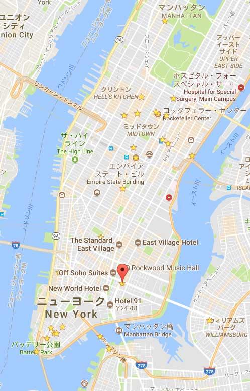 ブルームーンホテルマップ