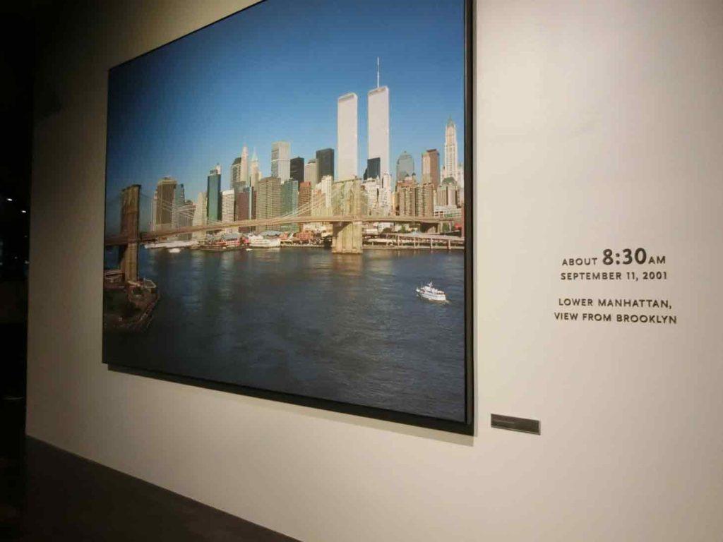 911メモリアル展示